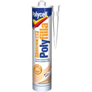 Polycell Flexi Gap Polyfilla Cartridge - 290ml