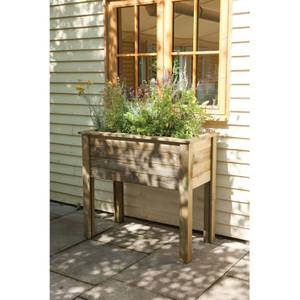 Forest Garden Wooden Bamburgh Planter Table