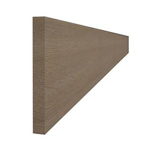 Timber Shaker Oak 2400mm Continuous Plinth