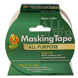 Duck All Purpose Masking Tape - 50mm x 50m