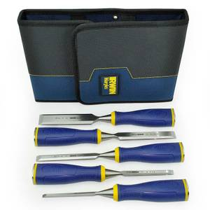 Irwin Marples Chisel Ms500 5 Piece Set With Wallet