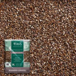 RHS Horticultural Washed Gravel Handy Pack - 5kg