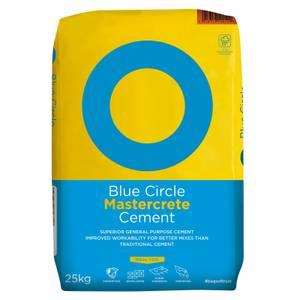 Tarmac Blue Mastercrete Cement - 25kg