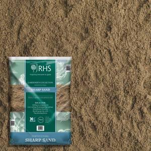 RHS Horticultural Sharp Sand Large Pack - 20kg