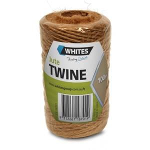Whites Jute Garden Twine - Natural / 100m