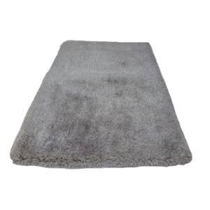 Sissi Shaggy Silver Grey Rug 230x160cm