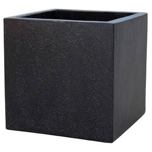 Plaza Cube Planter - Black