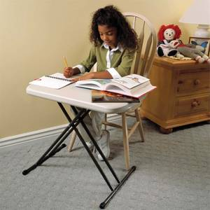 Lifetime Personal Trestle Plastic Table - 658mm