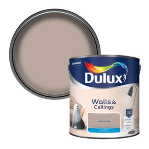 Dulux Soft Truffle - Matt Emulsion Paint - 2.5L