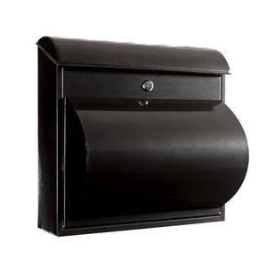 Jupitor Wall Mounted Mailbox - Black