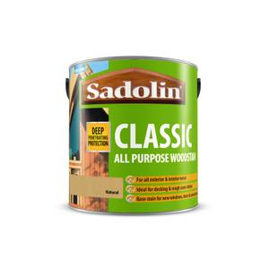 Sadolin Classic Natural Woodstain - 2.5L