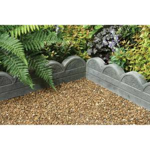 Stylish Stone Wave Top Edging 600mm - Antique (Full Pack)