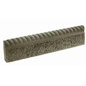 Stylish Stone Rustic Full Rope Top Edging - Old Granite (Full Pack)