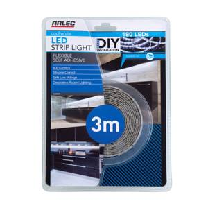 Arlec 3m Cool White LED Strip Light