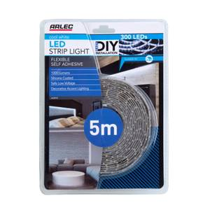 Arlec 5m Cool White LED Strip Light