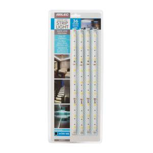 Warm White LED Flex Strip Light 4 Pack