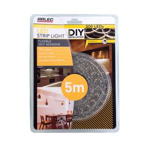 Arlec 5m Warm White LED Strip Light