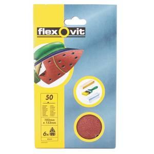 Flexovit PTA Detail Sanding Sheet -152 x 102mm - 150 Grit