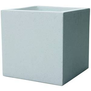 Plaza Cube Planter - White