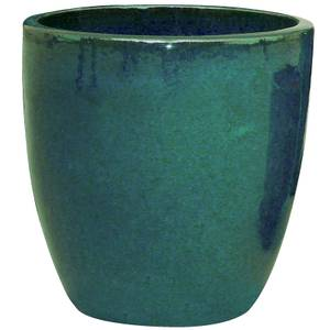 Chiswick Egg Planter - Dark Green