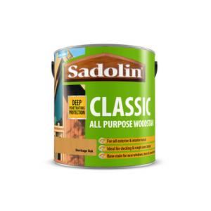 Sadolin Classic Heritage Oak Woodstain - 2.5L