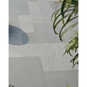 Stylish Stone Smooth Natural Sandstone 11.52sq m - Silver Grey
