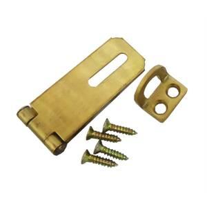 Hasp & Staple Brass 50mm x 1