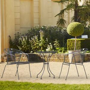 Royal Garden Elegance Metal 2 Seater Garden Bistro Set