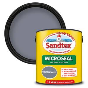 Sandtex Ultra Smooth Masonry Paint - Vermont Grey - 2.5L