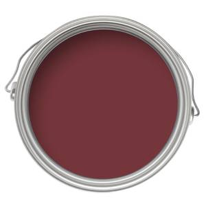 Sandtex Exterior 10 Year Gloss Paint - Classic Burgundy - 2.5L