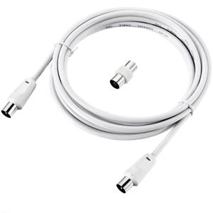 Ross Coaxial Aerial Cable 1.5m White