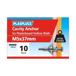Plasplugs Cavity Anchor M5 x 10
