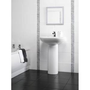 Flat White Wall Tile 10 pack