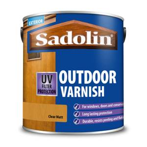 Sadolin Outdoor Varnish Matt - 2.5L