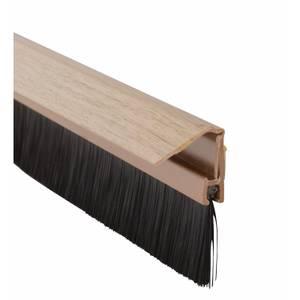 Concealed Fix Door Brush Light Oak - 838mm