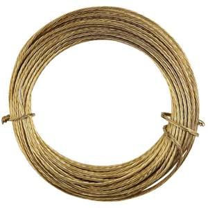 Brass Picture Wire - 3.5m