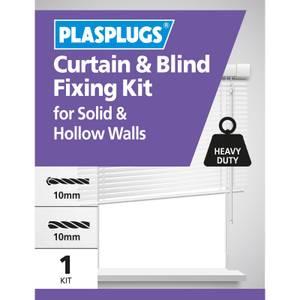 Plasplugs Curtain & Blind Fixing Kit