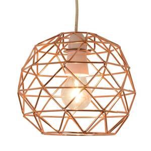 Bertie Geometric Easy Fit Pendant Light Shade - Copper