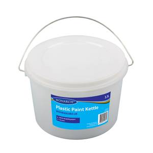Monarch Plastic Paint Kettle - 3.3L