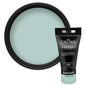 Crown Breatheasy Bathroom -  Soft Duck Egg -  Mid Sheen Paint -  40ml