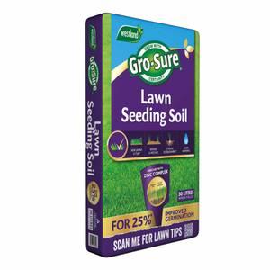 Gro-Sure Lawn Seeding Soil - 30L