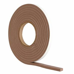 Extra Thick Foam Seal Brown - 3.5m