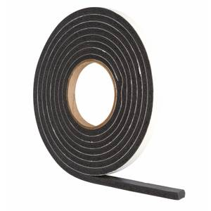 Extra Thick Foam Seal - Black - 3.5m