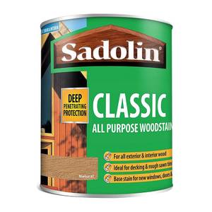 Sadolin Classic Natural Woodstain - 750ml