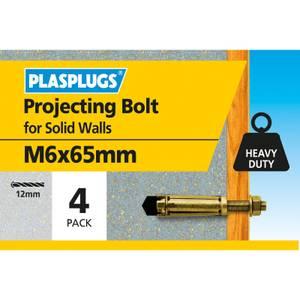 Plasplugs Projecting Anchor M6 x 65mm