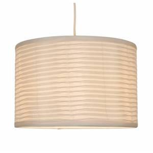 Tex Folded Lamp Shade - Cream