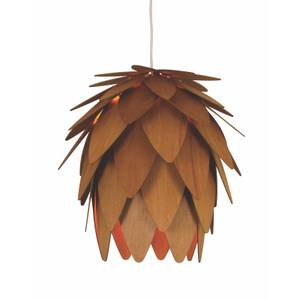 Pasha Pineapple Easy Fit Light Shade - Wooden