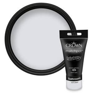 Crown Breatheasy Bathroom -  Soft Steel -  Mid Sheen Paint -  40ml