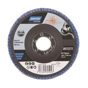 Norton Rapid Strip Rust Pro Abrasive Disc - 115mm