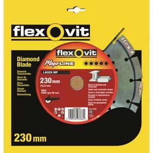 Flexovit Megaline Multi-Purpose Segmented Diamond Blade - 230mm
